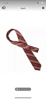 Besmon Striped Tie For Cosplay Magic Costume Halloween Christmas Party in Camp Pendleton, California