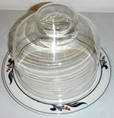 Dansk Bistro Maribo Cheese Plate w/ glass dome in Westmont, Illinois