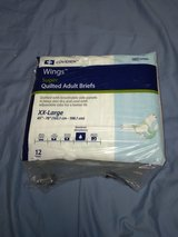 """Super Quilted Adult Briefs  w/adjustable tabs for a better fit • XX-Large  65"""" - 78"""" in Fort Hood, Texas"""