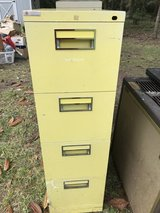 2 metal filing cabinets in Spring, Texas