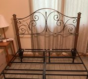 **Queen Headboard and Bed Frame in Chicago, Illinois