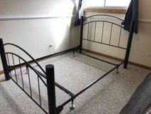 Double size bed frame in Chicago, Illinois