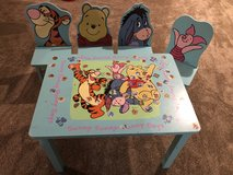 Winnie The Pooh Wooden kids table in Chicago, Illinois