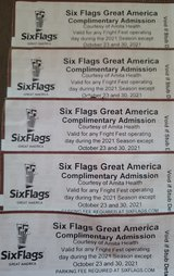 Fright Fest at Six Flags Great America in Gurnee tickets in Chicago, Illinois
