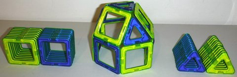 MagFormers 50pc Magnetic Constructive STEM Building Set in Chicago, Illinois
