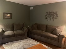 Couch and loveseat in Chicago, Illinois