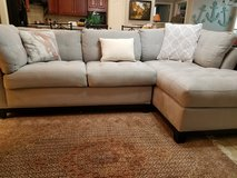 Comtemporary Loveseat and Chaise Lounge Couch in Spring, Texas