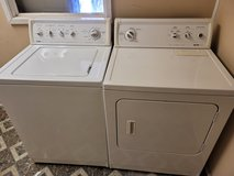 Kenmore washer and dryer in Warner Robins, Georgia
