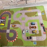 Play rug with cars in Spring, Texas
