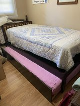 PRICE REDUCED Greyson twin bed with trundle in Warner Robins, Georgia