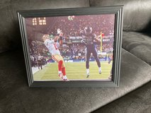 """Richard Sherman """"THE TIP"""" From 2014 Championship Game (XLVIII) 8x10 Framed Glossy Photo in Fort Lewis, Washington"""