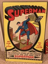 Superman poster & metal sign in Spring, Texas