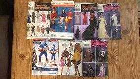Costume patterns in Spring, Texas