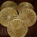 Bamboo plate holders/chargers in Spring, Texas
