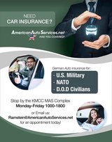 Auto Insurance Compare & Save $$$ in Ramstein, Germany
