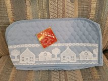 New Quilted Polyester Toaster oven Cover , Country Blue with Lace Trim in Warner Robins, Georgia