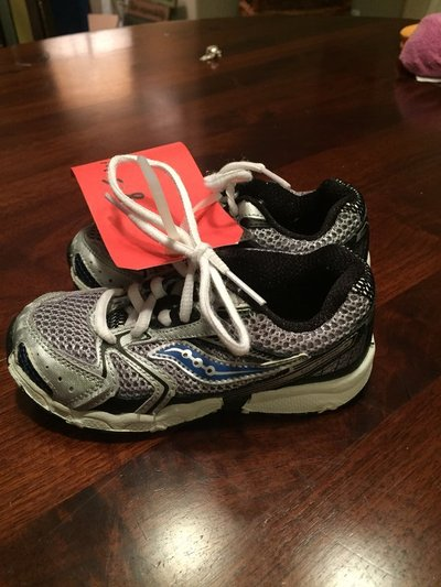 ee90b63d1d Boys Saucony Shoes Size 8.5 Wide | Baby & Kids for sale on ...