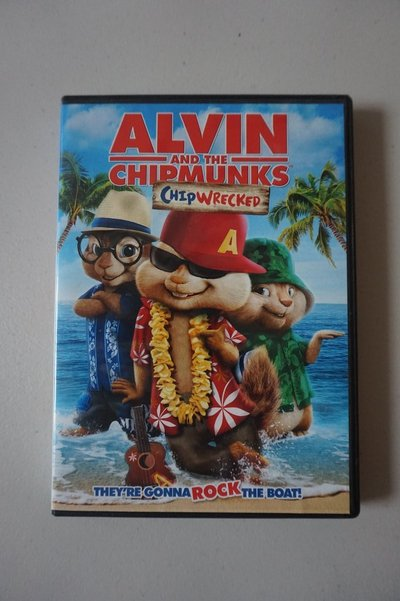 alvin and the chipmunks chipwrecked dvd movie movies for sale on