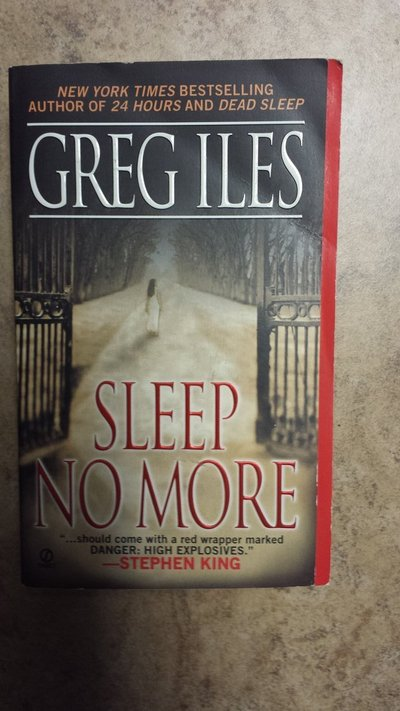 b1642bc6d Sleep No More by Greg Iles | Books for sale on Kingwood bookoo!