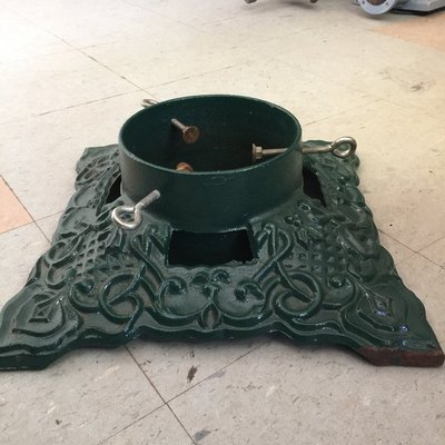 Large Cast Iron Christmas Tree Stand Home Decor For Sale On Robins