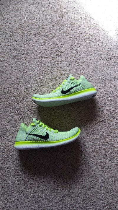 dd87783552054 Men s Nike Free RN Flyknit Shoes 6 - NEW in Camp Lejeune