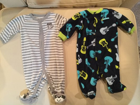 3af3847a9008 Carter s sleepers pajamas....3 months