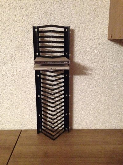 CD Rack/ Rack For Cds *reduced* In Ramstein