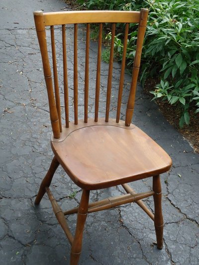 7 antique stickley chairs w/labels in Naperville - 7 Antique Stickley Chairs W/labels Furniture: Home - By Owner For