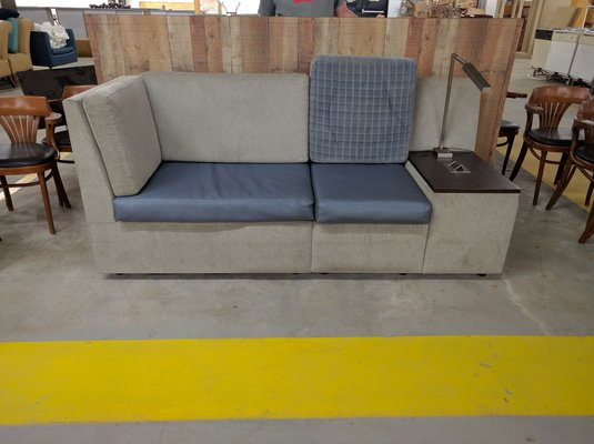 MODERN COUCH WITH LAMP In Camp Lejeune