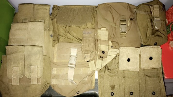 Misc Military Pouches Military Stuff For Sale On Lejeune Bookoo