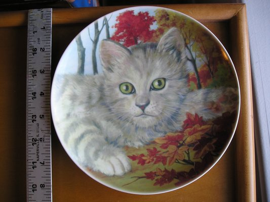 Cats Collection 8 Inch Plates 3 Plates Collectibles For Sale On