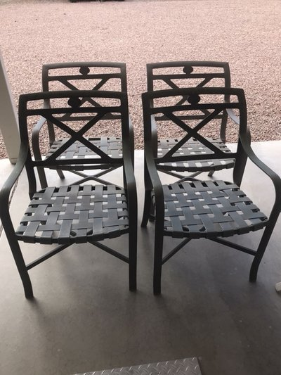Four Patio Chairs In Luke AFB