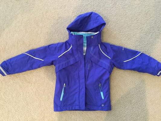 29d07a61e80 Girls Columbia Bugaboo Interchangeable 3 in 1 Jacket size 6/6x ...