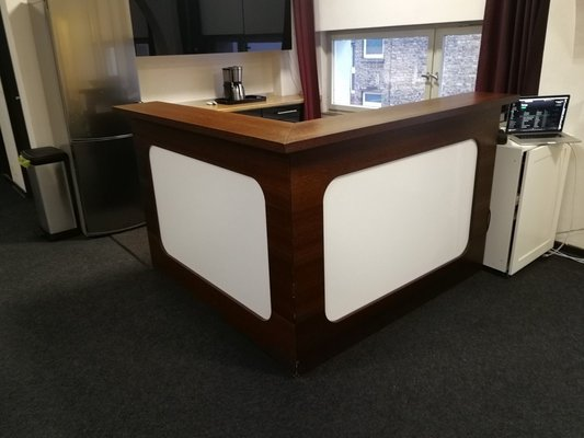 Professional Custom Made Modern Bar With Lighted Panels In Ramstein