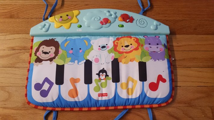 Piano Crib Toy Fisher Price With Lights And Sound For Infant Or