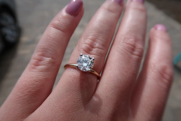 c3d0f254e Tiffany solitaire diamond engagement ring 1.25 carats | Jewelry for ...