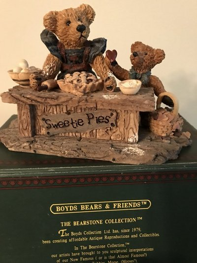 Boyds Bears Sweetie Pies Collectibles For Sale On Sugar Grove - Baeras-con-pies