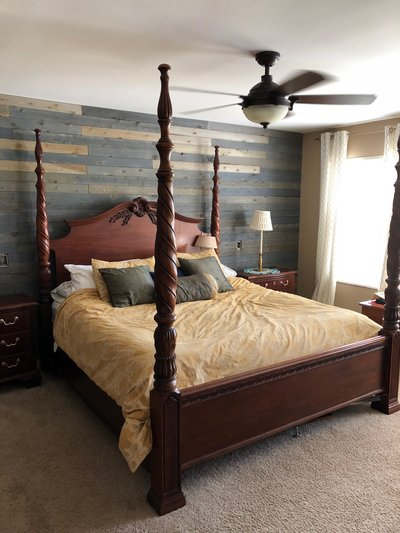 PRICE REDUCED AGAIN BEAUTIFUL King size bedroom furniture set ...