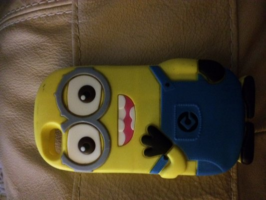 Minion Camera Case : Iphone c case minion rare cell phones for sale on okinawa bookoo