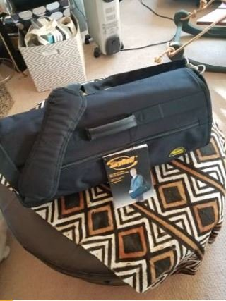 New Black Skyroll Garment bag carry-on travel luggage in Travis AFB 09e5eac3e8aa8