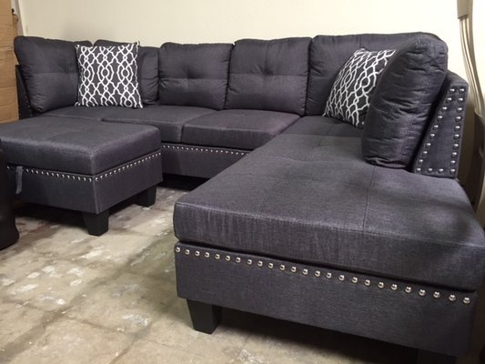 Admirable Inventory Sale Urban Linen Sofa Chaise Sectional With Gmtry Best Dining Table And Chair Ideas Images Gmtryco