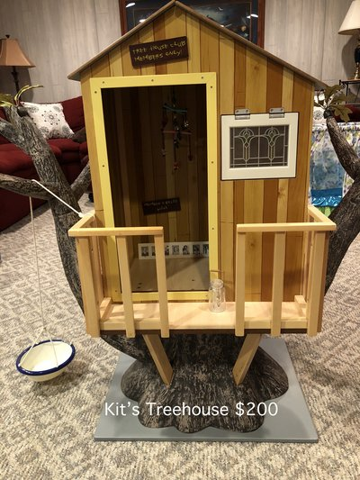 244a176b70b American Girl Kit's Treehouse in Naperville