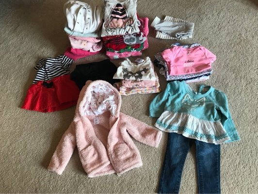Baby Girl Clothes Bundle Size 9 12 Months Clothing Baby Toddler