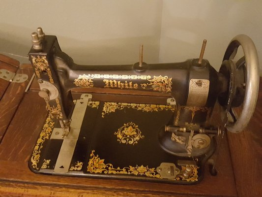 Antique White Sewing Machine Antiques By Owner For Sale On Inspiration White Sewing Machine For Sale