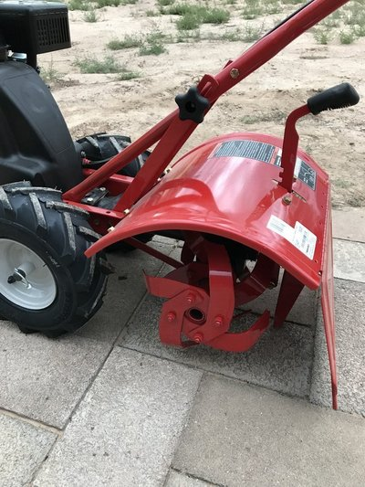 Charmant Super Bronco CRT Rear Tine Tiller In 29 Palms