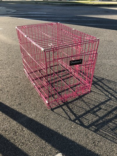 Sm Pink Dog Kennel Pets Supplies For Sale On Lejeune Bookoo