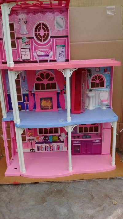 Barbie Dream House With Furniture And Elevator In Travis AFB