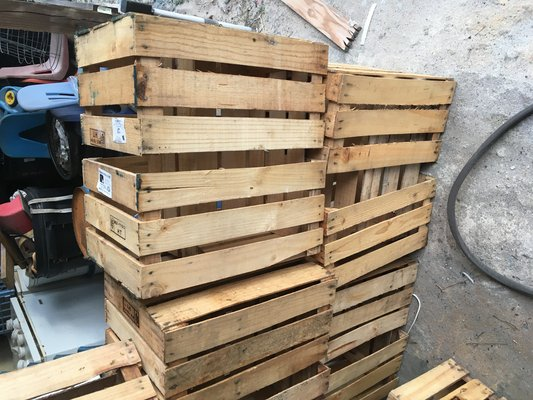 Wood Crates Arts Crafts For Sale On Lejeune Bookoo
