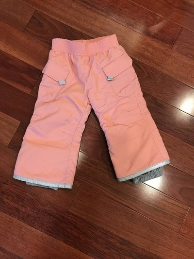 b3b7efb0e Hanna Andersson Toddler Snow Pants Size 80 (24m)