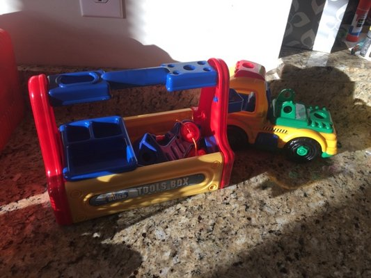 Kids Can Build Truck And Tool Box Toys Games For Sale On Fort